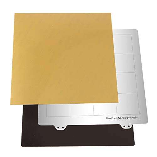 MagiDeal Bed Platform Hot Bed Build Surface Plate for Creality CR 10S / 235x235mm