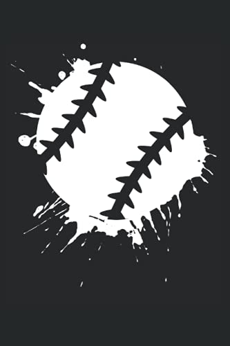 Baseball Notizbuch (liniert) Baseballer