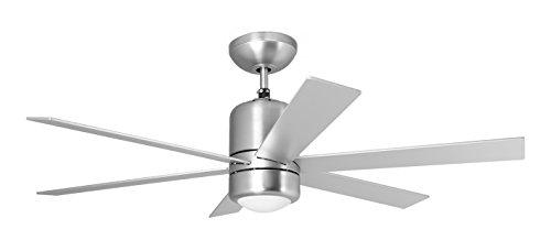 Orbegozo CP 50120 Ventilador de techo con luz y mando a distancia, 6 palas, 120 cm de diámetro, potencia de 60 W y 3 velocidades