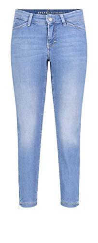 MAC Jeans Damen Dream CHIC Authentic Hose, D288 Light Blue wash, 40/27