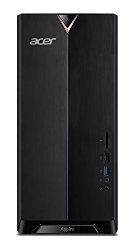 Acer Aspire TC-895 I9006 10ª generación de procesadores Intel CoreTM i5 i5-10400F 8 GB DDR4-SDRAM 1256 GB HDD+SSD Tower Negro PC Windows 10 Home