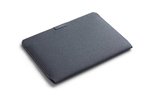 Bellroy Laptop Sleeve (13'' Macbook Pro, water-resistant recycled fabric, magnetic entry) - Basalt