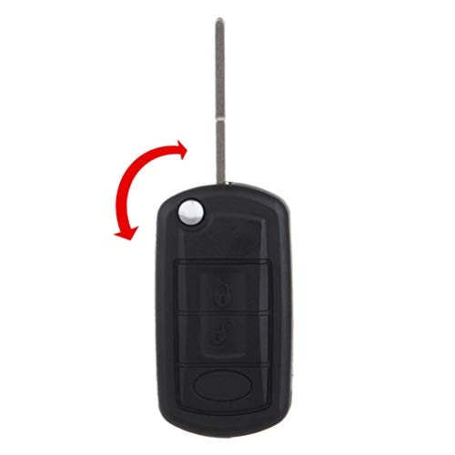 ECCPP 1X for Range Rover Key Fob Keyless Entry Remote Flip Key Fob 97-10 for Land Rover Discovery Key Fob LR3 Key Fob Range Rover Sport Key Fob 315MHz Keyless Remote Entry