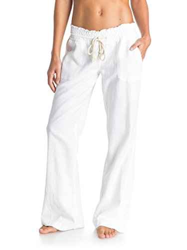 Roxy Damen Hose Oceanside Pants J NDPT, Sea Salt, S, ARJNP03006-WBB0
