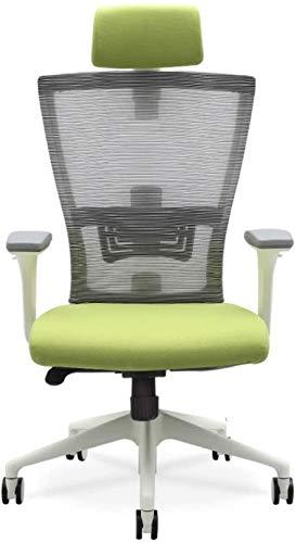 HZYDD Sedia ergonomica, Home Computer Ufficio Ascensore Rotatibile Esports Boss Capo Sedia, Verde