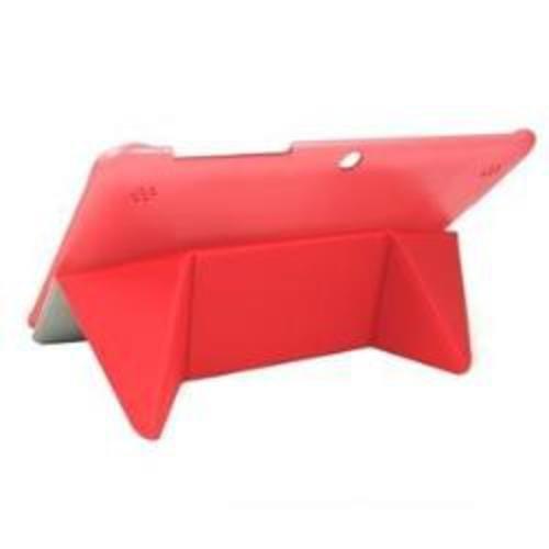 Silver HT Fullcase Origami O2 - Funda para BQ Edison 2, Color Rojo