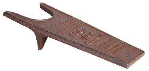 Esschert Design Stiefelknecht aus Gusseisen in Rostbraun, ca. 31 cm x 14 cm x 8,1 cm