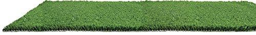VERDELOOK Grüner Rasen, Kunstrasen für den Außenbereich, 1 x 3 m