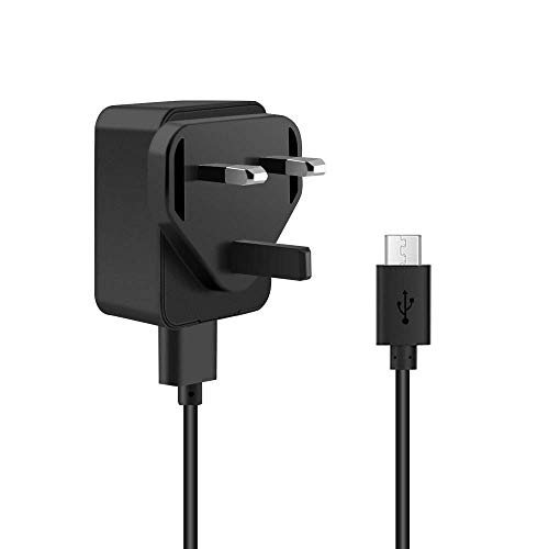 5V 2A Micro USB Charger, aifulo USB Mains Wall Charger with Android Micro Cable Compatible with Samsung S7 S6 S5 S4 S3 J7 J5 J3,Kindle Fire,Fire HD,Fire HDX,Power Bank,Tablets,Android Phone and More