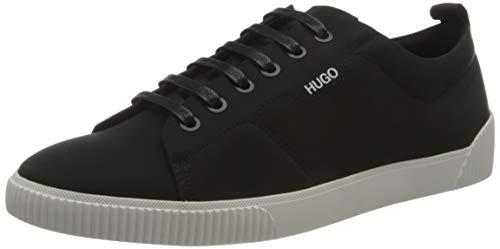 HUGO Damen Zero_Tenn_nypu Sneaker, Black1,42 EU