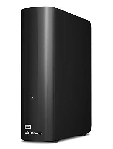 WD Elements Desktop - Disco duro externo de sobremesa de 10 TB, color negro