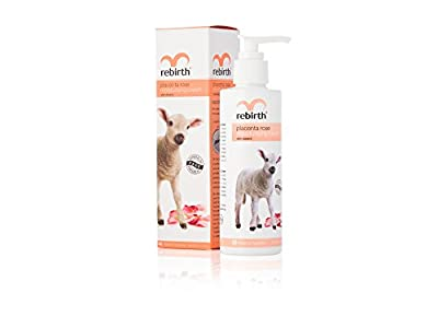 ReBirth Placenta Rose & Vit E Moisturizing Cream 200ml *Anti Wrinkle*