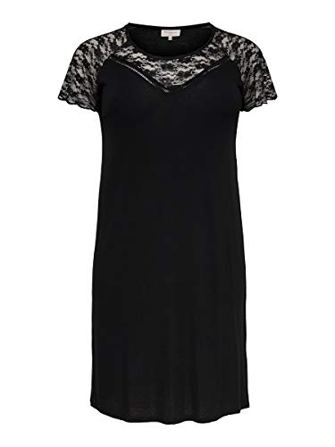 ONLY Carmakoma CARAMBER SS LACE Knee Dress ESS