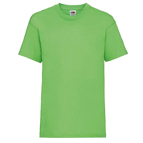 Fruit of the Loom Valueweight T Kids, Farbe:Lime, Größe:152