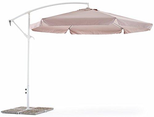 ombrellone da spiaggia salvaspazio My_garden Luna Ombrellone