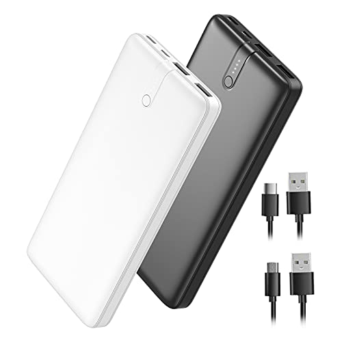 2-Pack Portable Charger Power Bank 20000mAh, Fast...