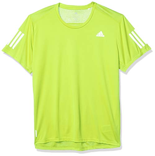 adidas Own The Run tee Camiseta de Manga Corta, Hombre, Black, M