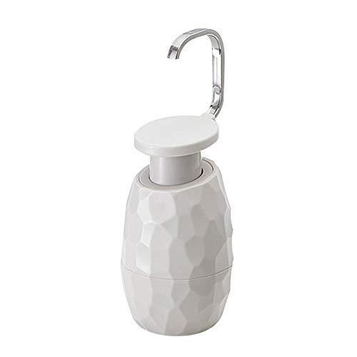 Maserfaliw Seifenspender Pressentyp Leere Flasche Einhand-Seifenspender Nachfüllbare Flüssigseifenlotionsspenderpumpen-Aufbewahrungsflasche