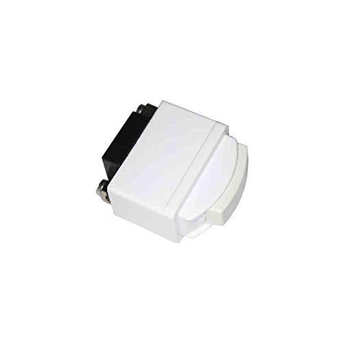 SOLERA 65500 Interruptor Serie Estrella 6 A, 250 V Blanco, 6.1 X 4.1 X 2.4 Cm