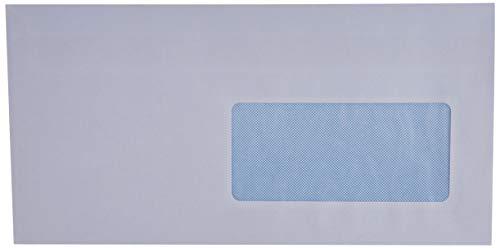 GPV 513 Briefumschläge, DL, 110 x 220 mm, weiß mit Fenster