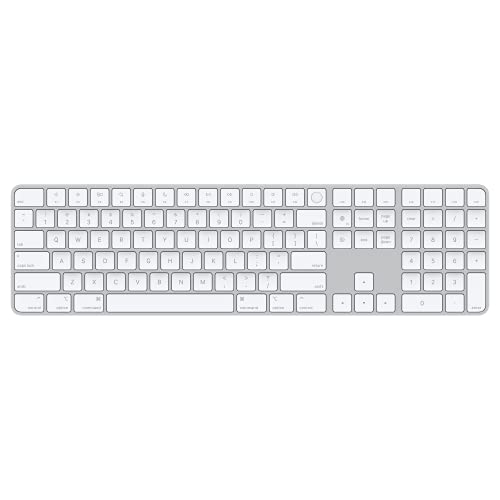 Apple Magic Keyboard with Touch ID and Numeric Keypad (for Mac Computers with Apple Silicon) - US English - Silver