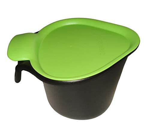 Tupperware - ZUBEREITEN 1a Tupper Bio-Müll ADRETTO - schwarz grün - 2,5l