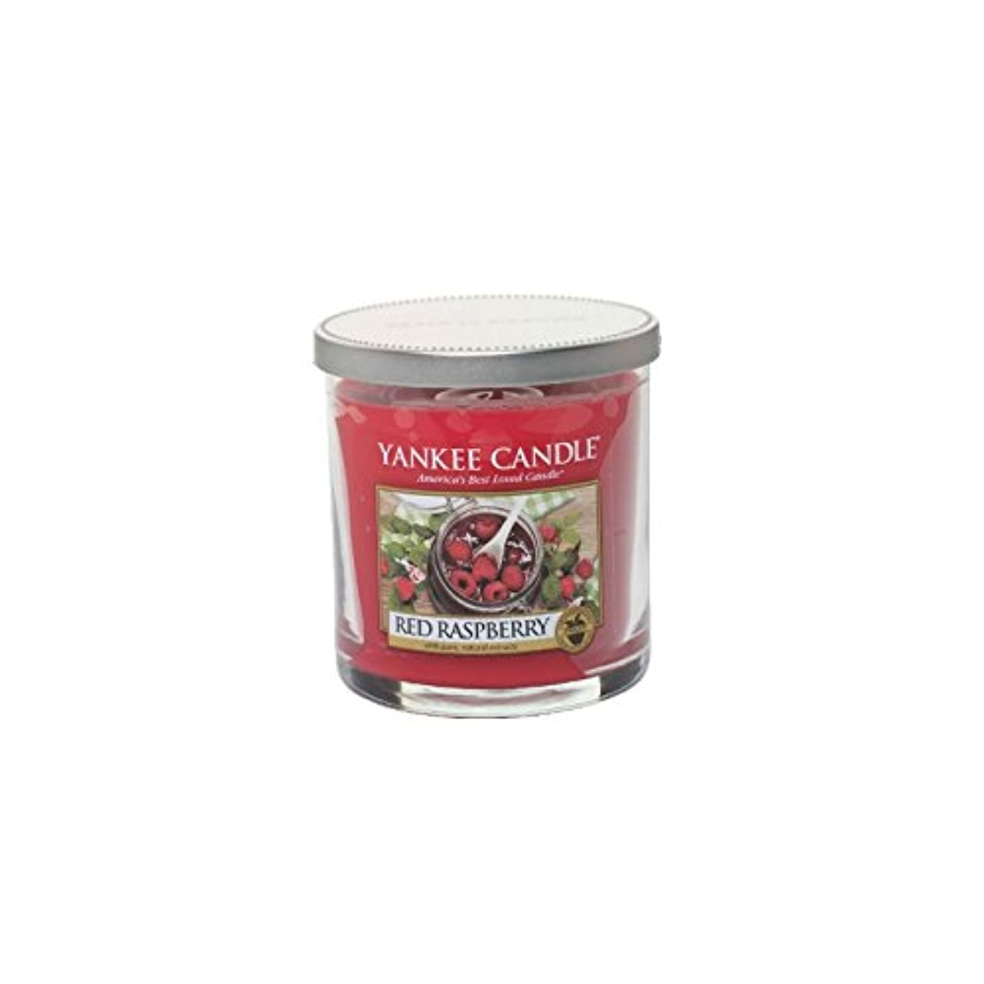 民主主義インスタント学部長ヤンキーキャンドルの小さな柱キャンドル - レッドラズベリー - Yankee Candles Small Pillar Candle - Red Raspberry (Yankee Candles) [並行輸入品]