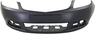 Crash Parts Plus Primed Front Bumper Cover Replacement for 2012-2015 Buick Verano