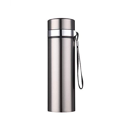 Generic Edelstahl-Thermoskanne Werbegeschenk Auto Hand Cup Edelstahl Vakuum Seil Isolation Cup @ True Color_450Ml