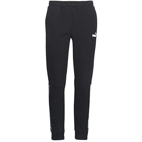 PUMA Amplified Pants FL Pantaloni Tuta, Noir, L Donna