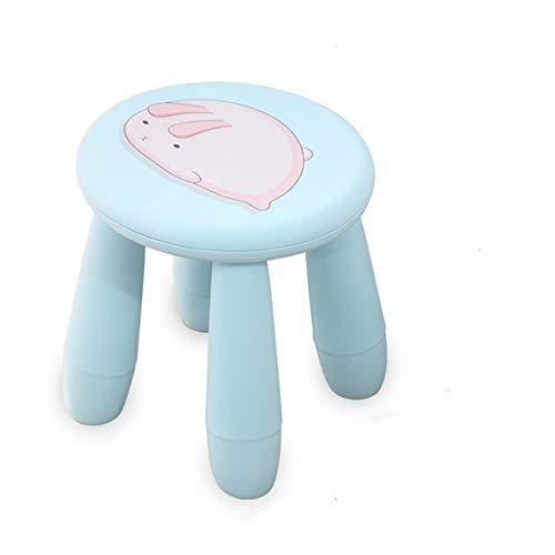 Zinniaya Creative Cute Cartoon kinderkruk, draagbare kruk, kunststof, stoel, bank, kruk, afneembaar, voor thuis in de open lucht, op reis