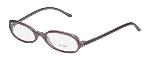 Vera Wang Fission Womens/Ladies Rx-able Stylish Designer Full-rim Eyeglasses/Glasses (47-19-135, Lavender)