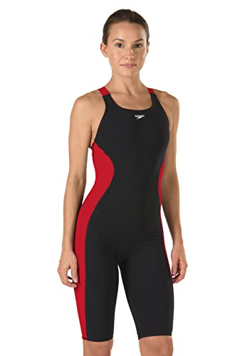 Speedo Powerplus Kneeskin Swimsuit Badpak voor dames