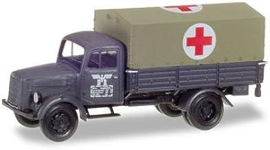 """Herpa Military 746069 Mercedes-Benz Planen-LKW /""""Deutsche Reichsbahn/"""" 1:87"""