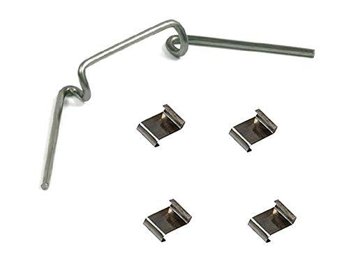 Bulk Hardware bh05781Edelstahl z-lap und w-type Gewächshaus Clip–50je Typ