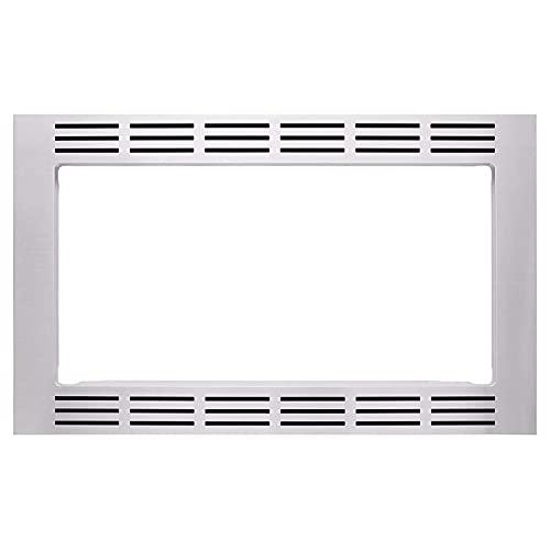 "Panasonic 27"" Microwave Trim Kit for Panasonic 1.6 cu ft Microwave Ovens – NN-TK722SS (Stainless Steel)"