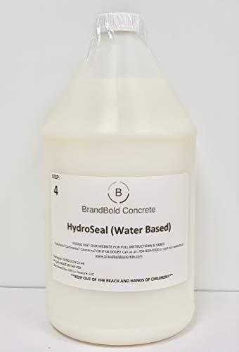 BrandBold Brilliance Concrete Acid Stain Sealer - HydroSeal (Water Based Sealer) - 1 Gallon - Step 4