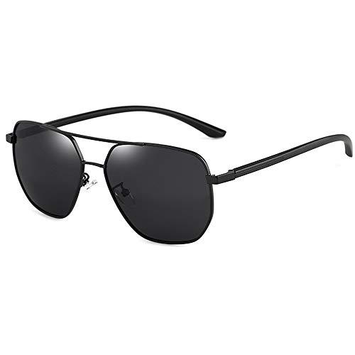 Xnuoyo Gafas de Sol para Hombre Polarizadas Protección UV 400 Gafas de Sol con Montura de Metal Ultraligera para Deportes de Conducción Pesca
