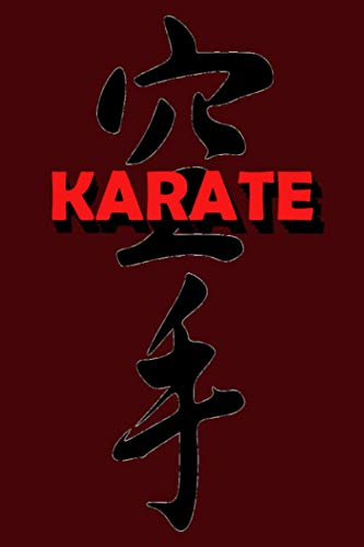 Karate Journal: Karate Do: Notebook   College Ruled schoolwork   6x9 Journal - 120 pages Paperback