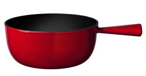 Stöckli Fondue Käsecaquelon Classic rot-schwarz, 7218.0214