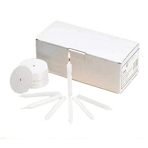 Candlelight Service Kit with Wax Candles and Drip Protectors, Box of 120
