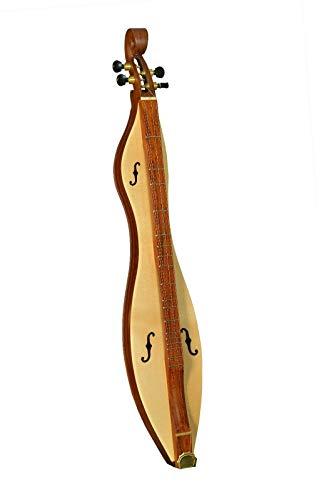 Muzikkon 4-Saiten-Hackbrett Berghackbrett Cutaway Rosewood, Hackbrett Appalachian