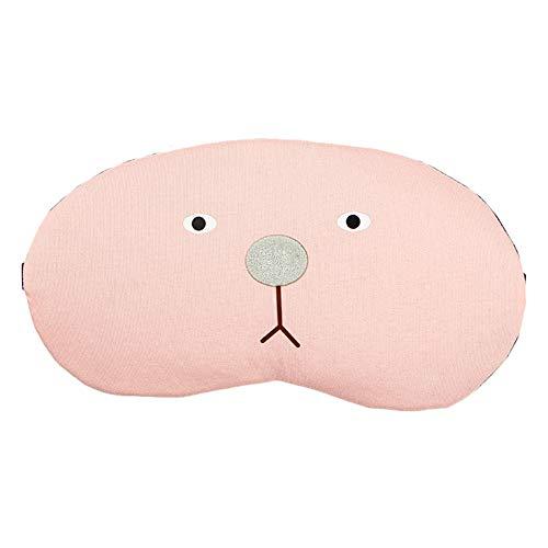 Oogmasker met diermotieven, schattig ijs, Fatiga, slaapzak, black-out oogmasker voor kinderen en meisjes 20.5 * 10.5cm H