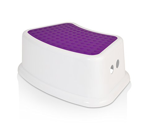 Kids Best Friend Purple Step Stool, Take It Along in Bedroom, Kitchen, Bathroom and Living Room Toy Room, Great For Potty Training, ideal Gift