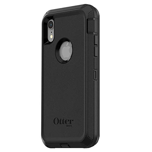 OtterBox Defender Series Case for iPhone Xr (ONLY), Case Only - Non-Retail Packaging - Black