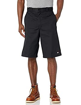 Dickies Men s 13 Inch Loose Fit Multi-Pocket Work Short Black 32