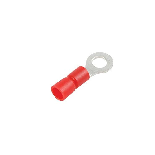 COSSE A OEIL 6.4mm - ROUGE