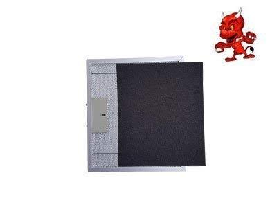 1 Set Aktivkohlematten Kohlematten Filtermatten Aktivkohlefilter Filter Kohlefilter in Premium Qualität passend für Dunstabzugshaube Abzugshaube PKM UBH 3001H, UBH3001H
