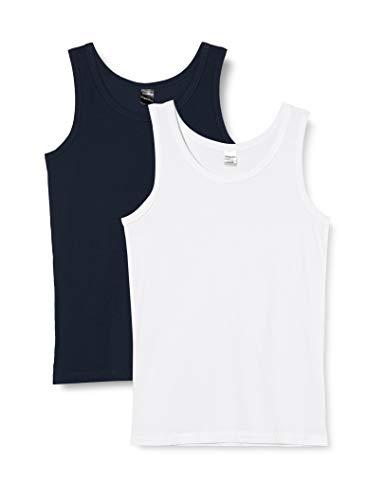 Schiesser Jungen Multipack 2Pack Shirts 0/0 Unterwäsche, Sortiert 2, 176 (2er Pack)