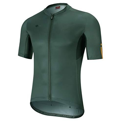 DANGAO Ciclismo Jersey Manga Corta Ciclismo Ropa Camisa de Bicicleta MTB Camisetas Transpirable (Color : Asian Size V, Size : Large)